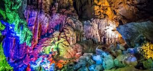 phong nha cave tour mutiple color