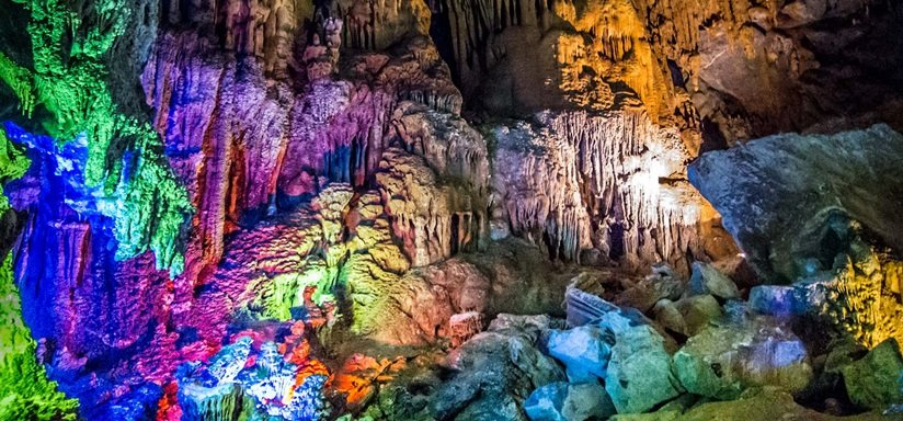 Phong Nha - caves town in Viet Nam