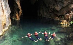 dark cave - dark cave tour - swimming