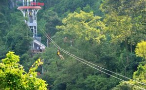 zipline dark cave tour